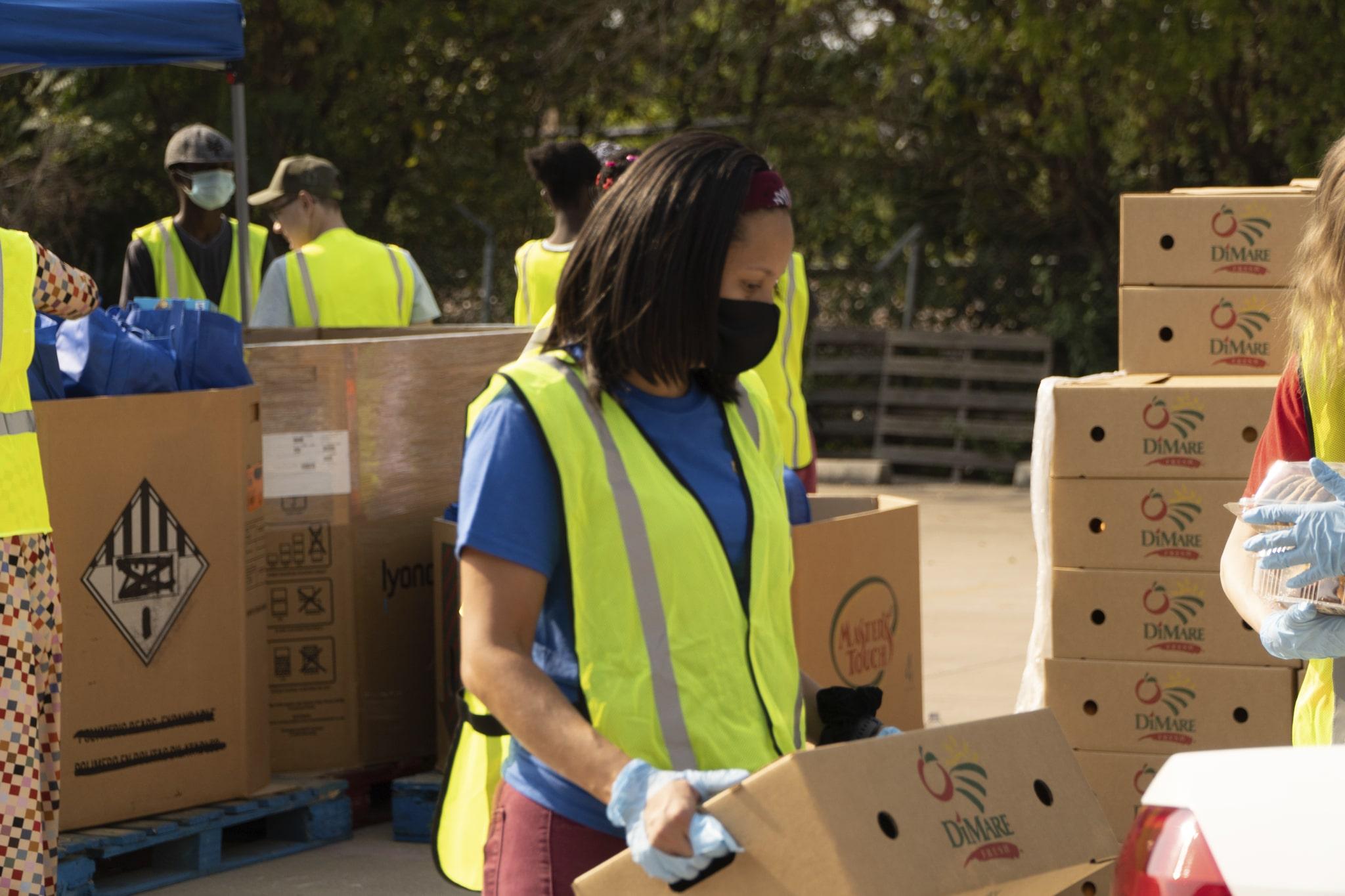 DiMare Fresh Produce Box Donation